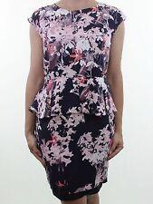 Peplum Casual Regular Size Mini Dresses for Women