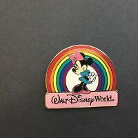 WDW - Rainbow Minnie Mouse Disney Pin 12129