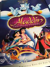 ALADDIN : WALT DISNEY - 2 DISC DVD SET SPECIALE EDITIE - NIEUW