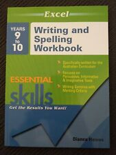 Excel Essential Skills Years 9 to 10 Writing and Spelling Book By Bianca Hewes
