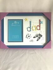 Dad Football Frame The Best In The World Fathers Day Gift Photo Size 10cm x 15cm
