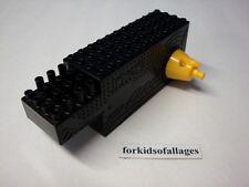 KNEX MOTOR/GEAR BOX Yellow &Black Battery Forward/Reverse Truck Frame Part Piece