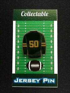 Green Bay Packers jersey lapel pin-Collectable-History of Jersey's Collection