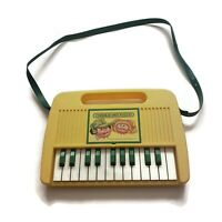 [PARTS OR REPAIR] Vintage Cabbage Patch Kids Toy Keyboard Piano With Strap 1984