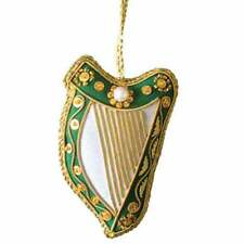 New Irish Harp Needlework Christmas Tree Ornament  Direct from Ireland