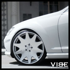 "19"" MRR HR3 SILVER VIP CONCAVE WHEELS RIMS FITS MERCEDES S430 S500"