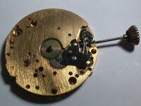 ETA UTE UNITAS 6498 MOVEMENT MECHANICAL, Arnex for parts/repair - YELLOW