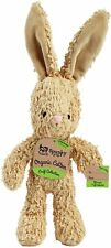 "Spunky Pup Organic Cotton, Squeaky Bunny, 10"" Dog Toy, SM, Assorted-Free Ship!"