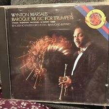 WYNTON MARSALIS - BAROQUE MUSIC FOR TRUMPETS - ENGLISH CHAMBER ORCHESTRA - CD