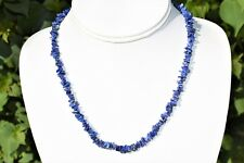 "CHARGED Premium Lapis Lazuli Crystal 18"" Necklace Healing Energy REIKI WOW!!!"