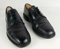 ALLEN EDMONDS USA Size 10.5 Mens Hillcrest Leather Oxford Black Dress Shoes EUC