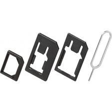 SIM Kartenadapter 3er-Set SIM / Nano / Micro + Öffner für iPhone von goobay