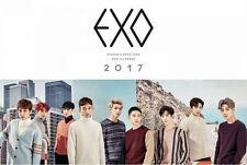 EXO 2017 SEASON'S GREETINGS Wall&Desk&Mini Calendar(3p)+Diary+Photo Card+POSTER
