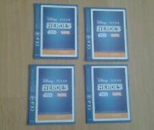 Sainsbury's x 4 packets Disney Pixar Heroes Star Wars Marvel Stickers