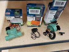 "*Mixed Lot 3/4"" irrigation Valve In-Line Valve 3/4 in. Automatic Converter valve"