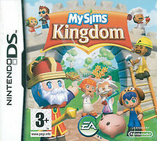My Sims Kingdom Nintendo DS 3+ Strategy Game