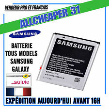 BATTERIE SAMSUNG GALAXY S8 A5 A3 S5 S4 S3 S2 Note2 3 4 S6 5 4 3 MINI ACE2 S DUOS