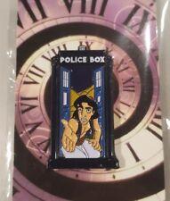 "Disney Fantasy Pin Pins Aladdin in Tardis Doctor who ""Do you trust me? LE100"