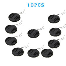 10pcs 37mm Front Lens Cap Hood Cover Snap on For Canon Nikon Pentax Fuji Sony