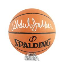 Kareem Abdul Jabbar Autographed Spalding Basketball - JSA COA
