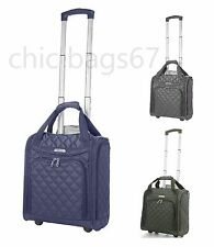 EasyJet Flybe Lightweight Wheeled Hand Luggage Trolley Suitcase Cabin Bag Case