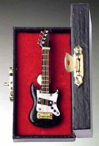"2.75"" Black Electric Guitar Pin Musical Instrument Lapel Pin Tie Tack (PGEB)"