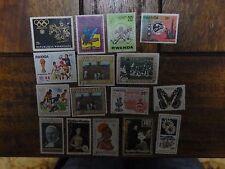 16x Mixed Rwanda Stamps