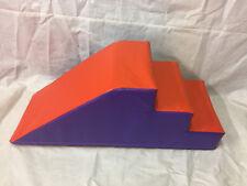 ORANGE / Purple  Soft Play Step & Slide  120cm x 50cm x 50.cFREE POST