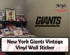 New York Giants Vintage Vinyl Wall Stickers