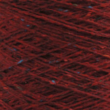100% Merino wool Garnet Red 8ply/DK weight hand-knitting 100g skein