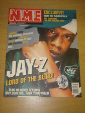 NME 2002 JAN 12 JAY-Z ASH EMINEM OASIS PRODIGY BLUR