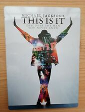 Michael Jackson's This Is It DVD 2 Disc Steel Case