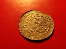 RARE Sweden 1649 LIVONIA Queen Chistina Shilling solidus silver 30 year War coin