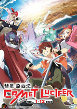 ANIME DVD Comet Lucifer Vol.1-12 End Region All English Subs + FREE ANIME