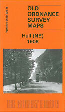 OLD ORDNANCE SURVEY MAP HULL NE 1908