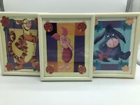 Disney Winnie The Pooh Hanging Vintage Frames. Tiger Eeyore Piglet Nursery Decor
