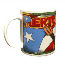 Puerto Rico Colorful Frog Collectors Coffee Cup Mug 8 oz