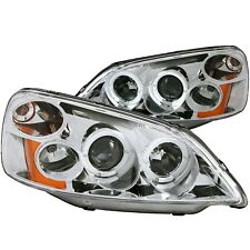 ANZO PROJECTOR HEADLIGHTS CHROME w/ HALO FOR 01-03 HONDA CIVIC 2/4DR