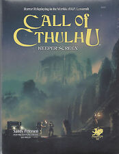 Call of Cthulhu 7TH Edition Keeper Screen Pack HC NEW Chaosium COC  CHA23137