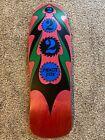Vintage 1989 NOS Schmitt Stix Ripsaw 2 skateboard deck Powell Natas Santa Grosso