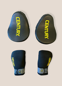 CENTURY BRAVE™ Partner Boxing Training Combo 2 Gloves, 2 Punch Mitts Size L/XL