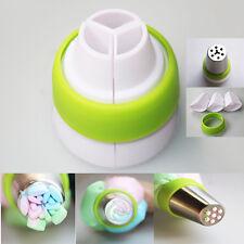 Icing Piping Nozzle Converter Sugar Craft Cake Decorating Tool 3 colors Baking