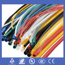 70pcs Polyolefin Heat Shrink Tubing #U Tube Car Wire Wrap Sleeving Cable Kit New