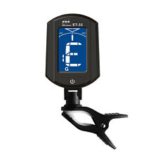 ENO ET33 LCD Clip on Guitar Tuner For Digital Chromatic Ukulele Bass Violin Clip