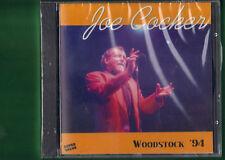 JOE COCKER - WOODSTOCK 94 TIMBRO SIAE A SECCO CD NUOVO SIGILLATO