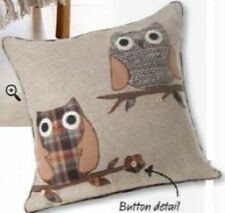 Embroidered Square Decorative Cushions