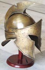 ROMAN MEDIEVAL KING LEONIDAS 300 SPARTAN HELMET - MOVIE REPLICA ARMOUR HELMET