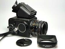Hasselblad 500 C/M + Zeiss T* Planar CF 80mm F2.8 + Prism Finder