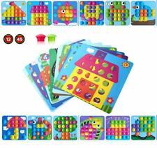 Aerialjump Mosaik Steckspiel Für Kinder Ab 2 Jahre,Lernspielzeug Geschenke