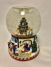 Partylite Christmas Morning Holiday Tealite Musical 2002 Snowglobe P7655